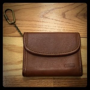 Vintage Coach Change Purse and Card Holder